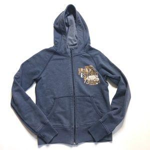 Roots Canada Hoodie Full Zip Jacket Beaver Logo